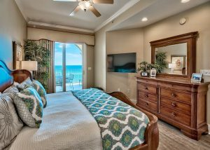 Bedroom in a Your Friend at the Beach condo, near the best wine festivals on 30A