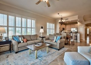 Indoor shot of one of the best condos to stay in this Winter in 30A