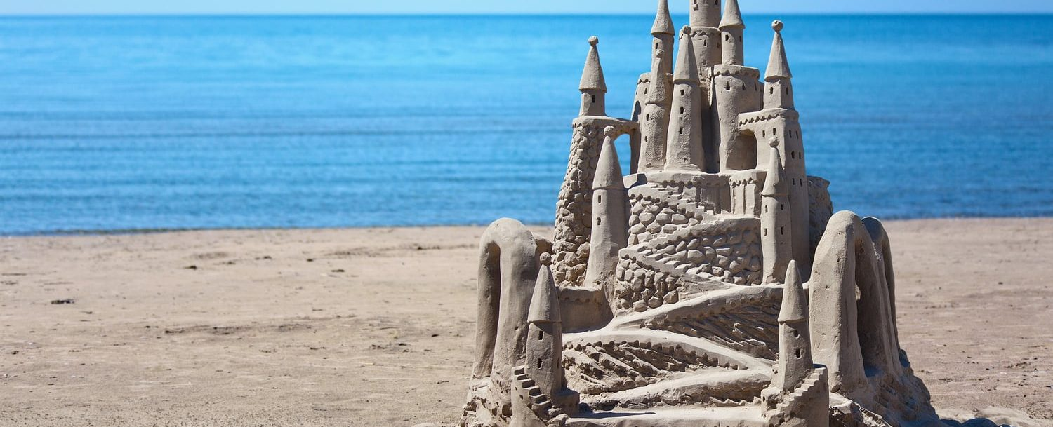 Elaborate Sandcastle; How to Make the Best Sandcastle