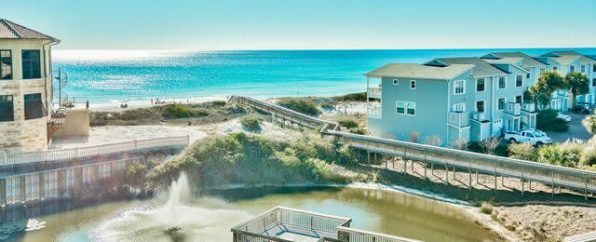 San Remo condo with dock overlooking ocean