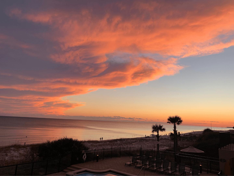 villa coyaba sunset